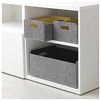 БЕСТО Коробка, желтый, 25x31x15 см, фото 1