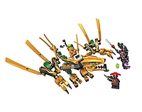 Конструктор BELA (Lari) Ninja 11160 Золотой Дракон