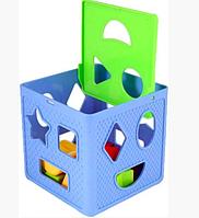 Игрушка развивающая куб магческий, сортер