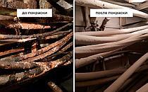 Главная распределительная энергостанция. Огнезащитная обработка кабелей. 3