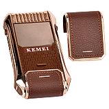 Электробритва Kemei  в подарочной упаковке, фото 4