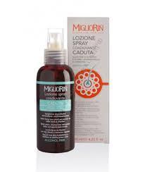 Лосьон-спрей против выпадения волос Миглиорин