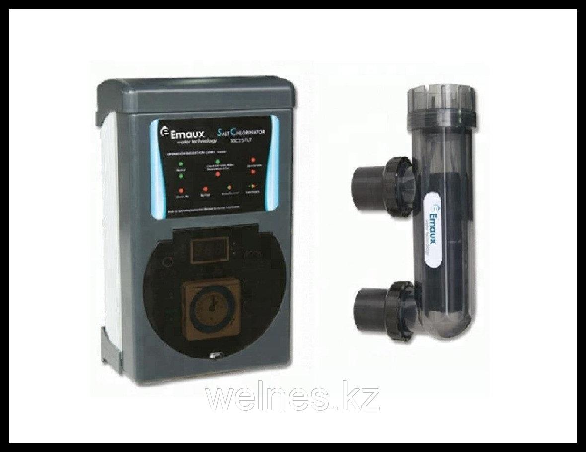 Солевой хлоринатор для бассейна Emaux SSC-15T, с таймером (до 50 м³)