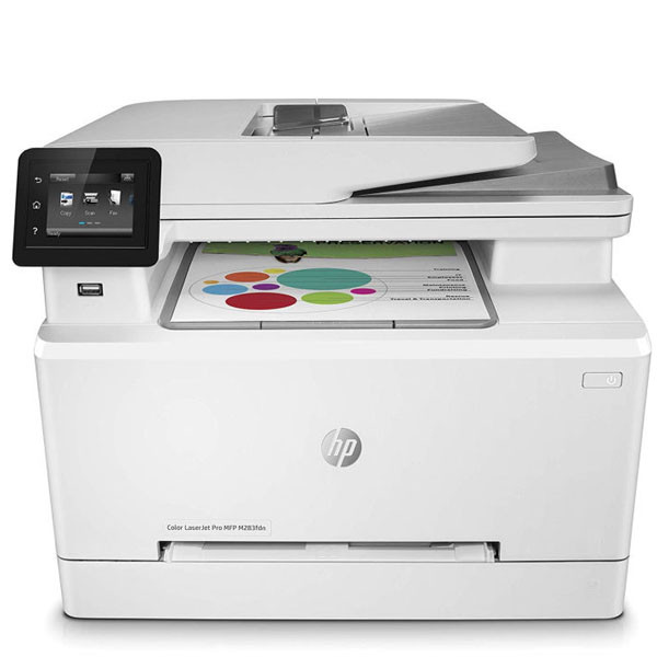 Мфу HP 7KW74A HP Color LaserJet Pro MFP M283fdn Prntr (A4) Printer/Scanner/Copier/Fax/ADF, 600 dpi, 21 ppm, 25