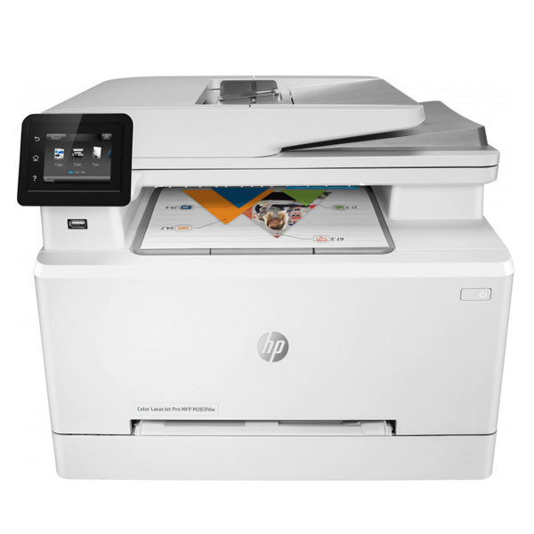 Мфу HP 7KW75A HP Color LaserJet Pro MFP M283fdw Prntr (A4) Printer/Scanner/Copier/Fax/ADF, 600 dpi, 21 ppm, 25
