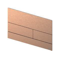Металлическая панель смыва унитаза TECEsquare с цветным PVD покрытием