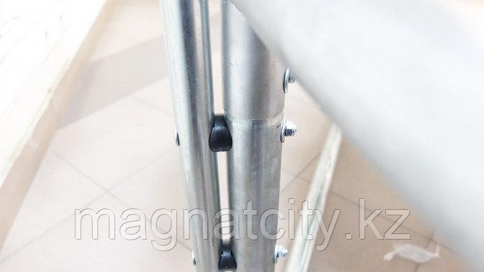 Батут 6 футов с защитной сеткой и лестницей 3 ноги