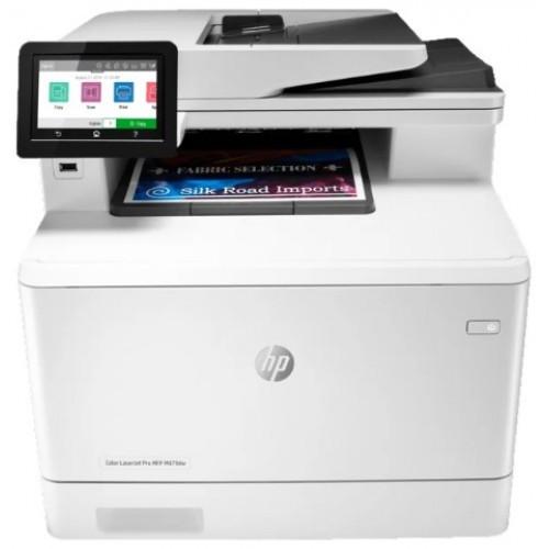 Мфу HP W1A77A HP Color LaserJet Pro MFP M479dw Prntr (A4) , Printer/Scanner/Copier/ADF, 600 dpi, 27 ppm, 512 M