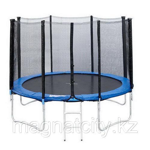 Батут SportElite 14FT 4,27м с защитной сеткой и лестницей