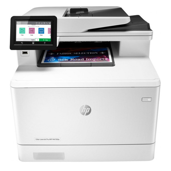 Мфу HP W1A79A HP Color LaserJet Pro MFP M479fdn Prntr (A4) , Printer/Scanner/Copier/Fax/ADF, 600 dpi, 27 ppm,