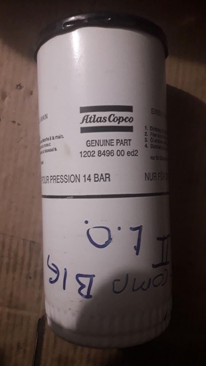 """D91/H212(1""""-12 UNF) ATLAS COPCO 1202 8496 00 Масляный фильтр"""