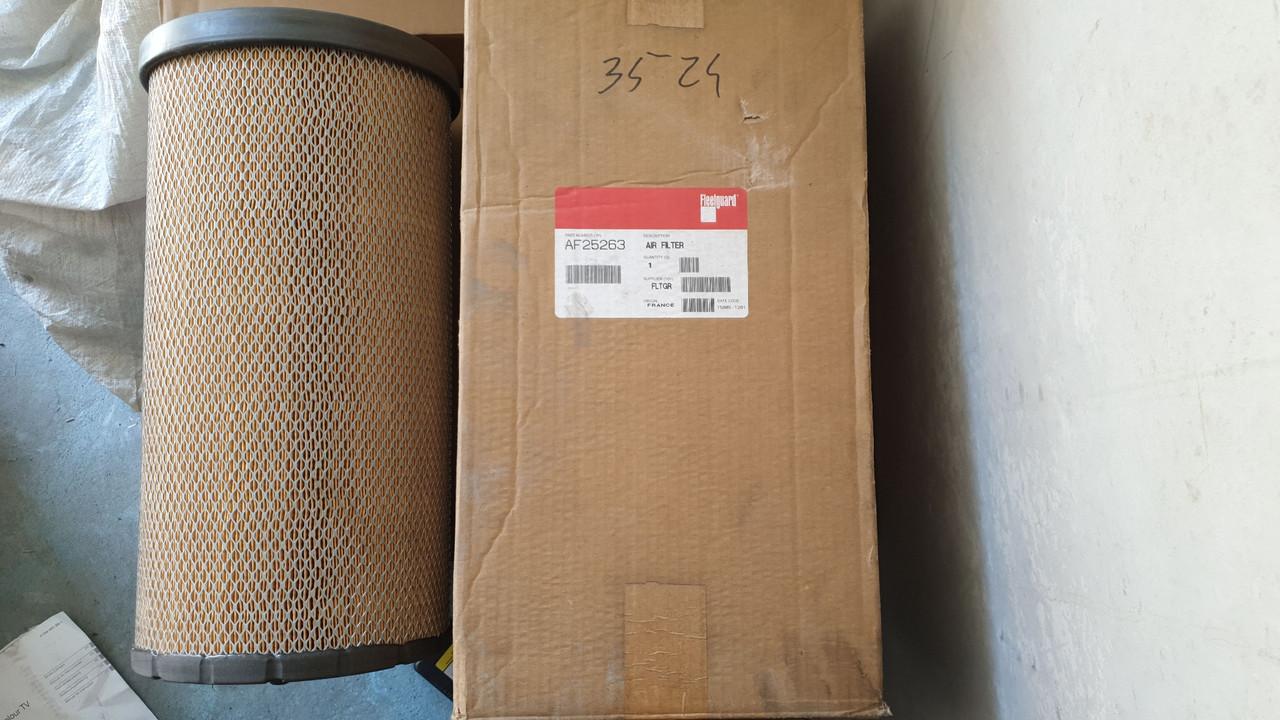 D230/H450 Fleetguard AF25263 Воздушный фильтр (замена 106-3973) - 1 шт.