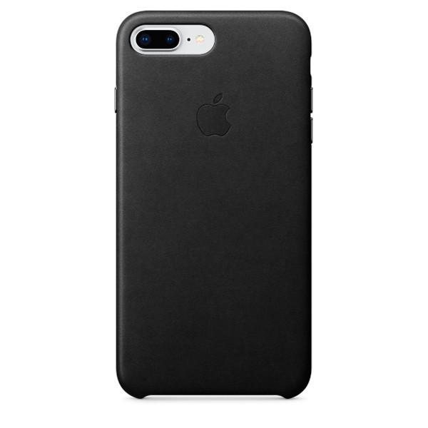 Оригинальный чехол Apple для IPhone 8 Plus / 7 Plus Leather Case - Black - фото 1