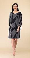 Платье Дали-2486/1, черный, 44