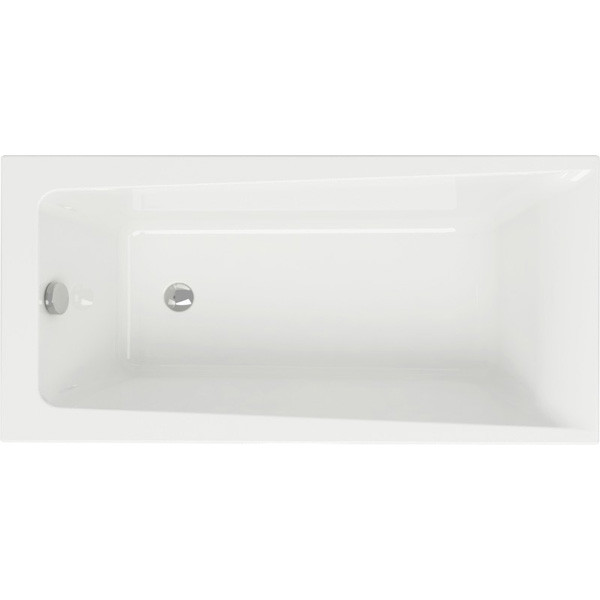 Ванна прямоугольная Cersanit LORENA 140x70, ультра белый, WP-LORENA*140-W