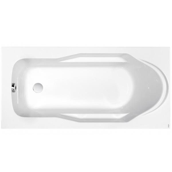 Ванна прямоугольная Cersanit SANTANA 160x70, ультра белый, WP-SANTANA*160-W