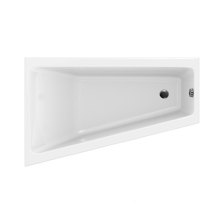 Cersanit. Ванна асимметричная CREA 160x100, левая, белый, P-WA-CREA*160-LNL