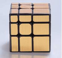 Золотой кубик рубик 3 на 3, зеркальный куб