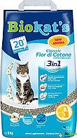 Наполнитель для кошачьего туалета Biokat's Fior di Cotton 3in1 Аромат хлопка 3в1 10кг, фото 1
