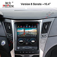 Штатная магнитола Hyundai Sonata YF