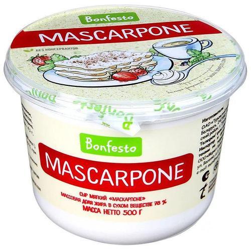 Маскарпоне Bonfesto 500 гр