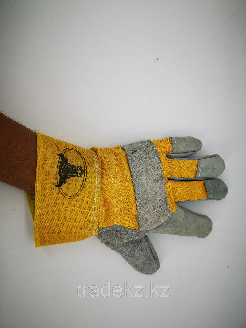 Перчатки спилковые комбинированные. средства индивидуальной защиты