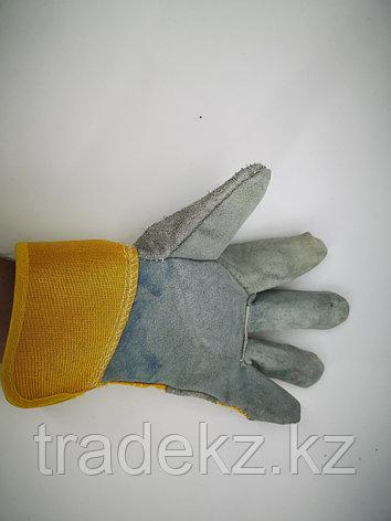 Перчатки спилковые комбинированные. средства индивидуальной защиты, фото 2