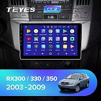 Автомагнитола Lexus Rx 330/350 Teyes Android