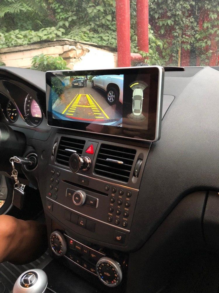 Магнитола Mercedes-Benz w204 / w212 C class, android