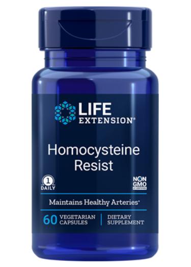Life Extension, Homocysteine Resist, 60 вегетарианских капсул