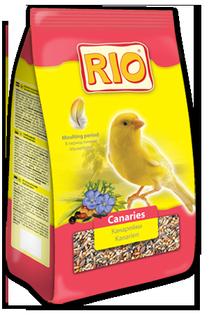 Корм для канареек в период линьки, Rio - 500 гр