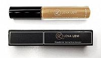 Тушь для бровей фиксирующая, перекрывающая цвет #4, золотая, Lena Levi