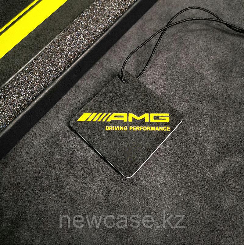 Чехол Алькантара AMG для Айфон 6/6P/7/7P/8/8P/X/XS/ - фото 7