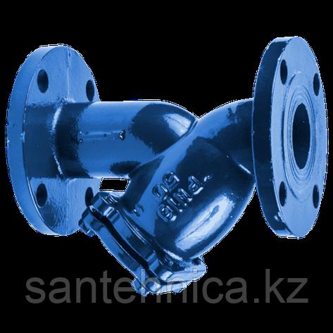 Фильтр сетчатый чугун Ду 200 Ру16 фл, фото 2