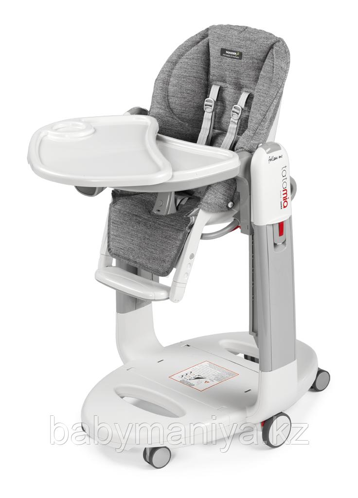 Детский стульчик для кормления Peg-Perego Tatamia Follow Me Wonder Grey