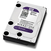 "Жесткий диск для видеонаблюдения HDD 3000 Gb Western Digital (WD30PURZ), 3.5"", 64Mb, SATA III"