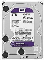 Жесткий диск для видеонаблюдения Western Digital Purple, 4000 GB