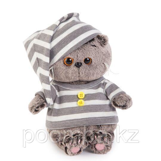 Кот Басик Baby в пижаме 17 см