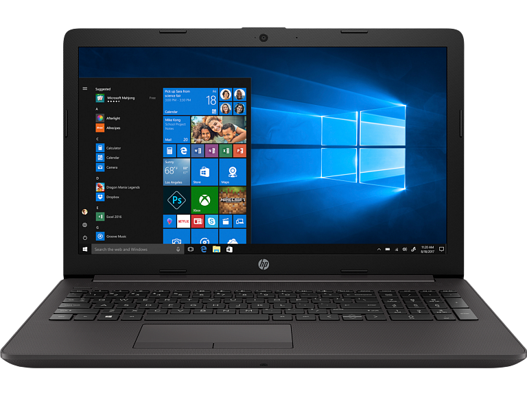 Ноутбук HP 2D198EA 250 G7 i3-8130U 15.6 8GB/256 DVDRW Camera Win10 Pro (Sea) UMA i3-8130U 250 G7 / 15.6 FHD AG