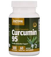 Jarrow Formulas, Curcumin 95, 500 мг, 60 растительных капсул