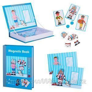 Magnetic Book Развивающая игра Magnetic Book Интересные профессии