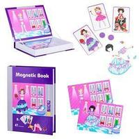 Magnetic Book Развивающая игра Magnetic Book Маскарад