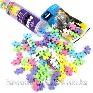 Plus Plus Игрушка, Plus Plus Разноцветный конструктор для создания 3D моделей, пастель