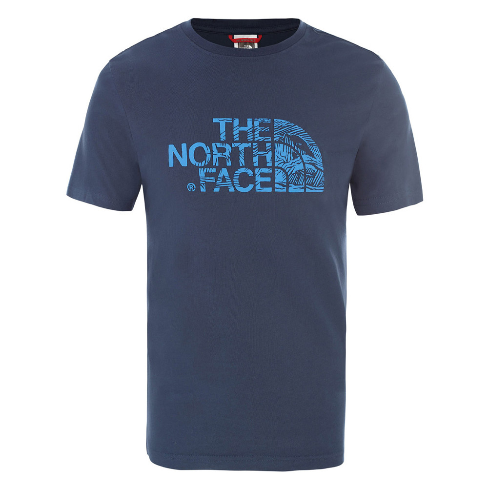 The North Face  футболка мужская Wood dome T0A3G1