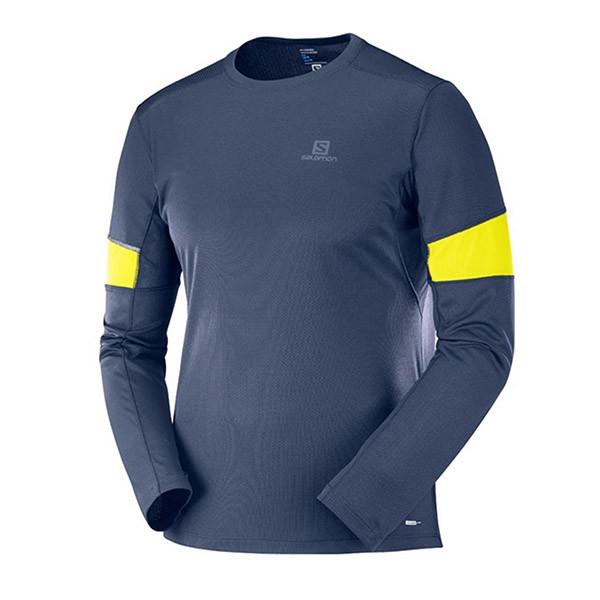 Salomon  футболка с дл.р. мужская Agile