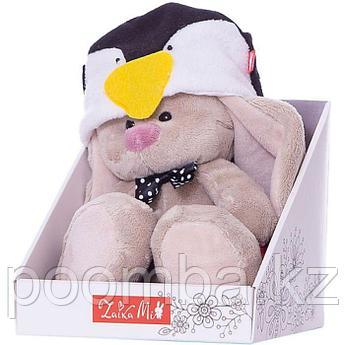 Зайка Ми в шапке пингвина (малыш)