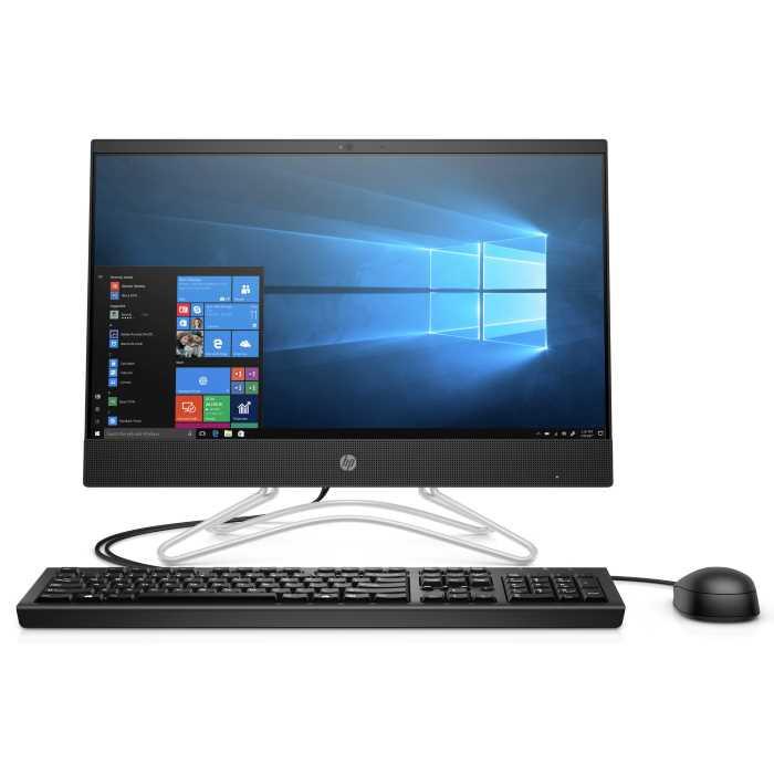"Моноблок HP 200 G3 AIO 21.5""/ Core i3-8130U/ 4GB/ 128GB SSD + 1TB/ DVD-RW/ WiFi/ BT/ DOS/ Jet Black (3ZD38EA#A"