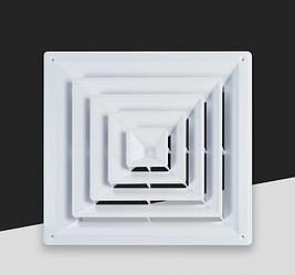 Диффузор квадратный (анемостат) ABS-008C