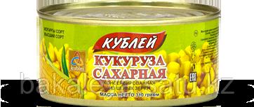 "Кукуруза сахарная консервированная ""Кублей"" 310 гр"