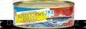 """Килька балтийская неразделенная в томатном соусе """"Кублей"""" 240 гр"""